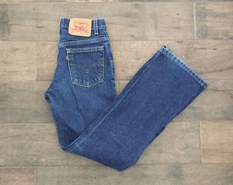 Vintage Levi Jeans // 517 // Vintage Levi's// High Waisted Jeans