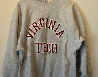 Virginia Tech Champion Reverse Weave