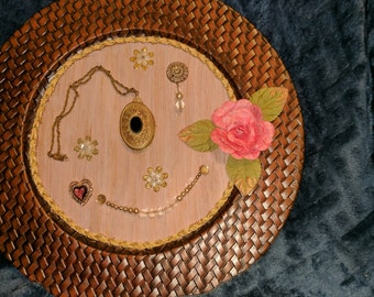 Mixed Media Charger Plate
