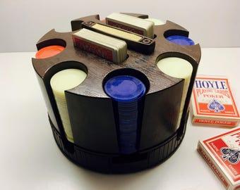 Poker Chip Dispenser Etsy