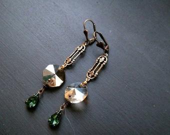 Victorian Rose Earrings
