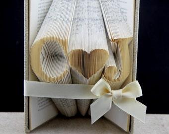 Personalized Custom Gift Book Art, Custom Christmas Present Folded Sculpture, Custom Book Art Sculpture Gift For Mom, Personalized Gift