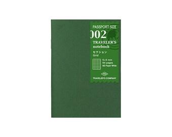 TN Refill - Passport Size - 002 Grid