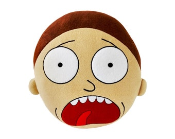 Morty from Rick and Morty Plush Pillow Toy