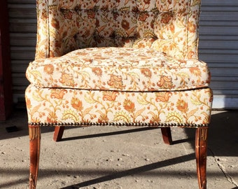 Vintage Fan Back Chair