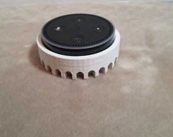 3D printed Echo Dot 2nd gen wall mount