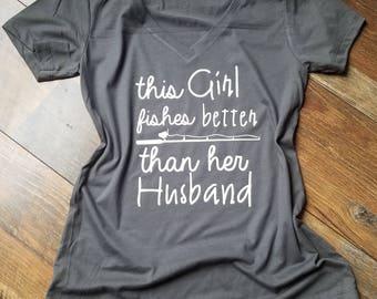 Woman's Fishing Shirt - Mother's Day gift - Woman's clothing - Fishing Shirt - Summer Shirt - Ladies Fishing Shirt