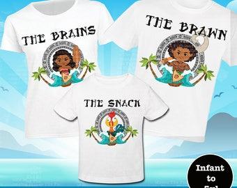 Funny Moana Shirt, Family Moana Shirt,  Maui Shirt, Hei Hei Shirt, Disney Moana Shirt, Disney Maui Shirt, Moana Tank, Maui Tank