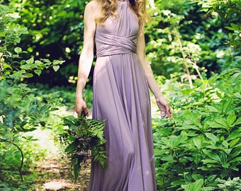 Long Willow Multiway Dress - Willow & Pearl Designer / Bridesmaids / Prom / Evening / Special Occasion / Maxi