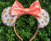 Corgithings Corgi Peach Mouse Ears in Pink