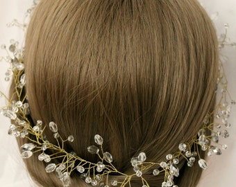 Bridal Hair Vine Bridal Wreath Bridal Tiara Diadem Bridal Head Piece Bridal Hair Accessory
