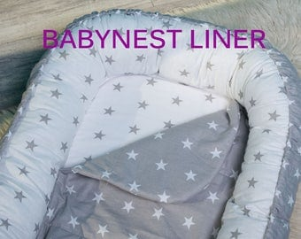 Baby nest protection liner. FREE delivery. 30*68cm. Easy washing, longer using. Babynest, pod, coccoon, bedding.