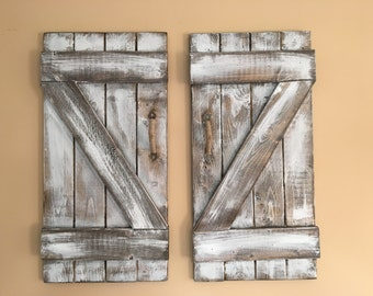 Mini barn doors rustic barn doors country door rustic living white wash  sc 1 st  Etsy & Country door | Etsy pezcame.com