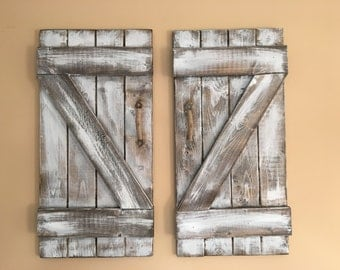 Mini barn doors rustic barn doors country door rustic living white wash  sc 1 st  Etsy : counrty door - pezcame.com