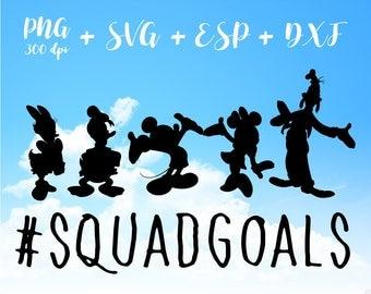 Squad goals Princess PNG High Resolution SVG Clipart transparent