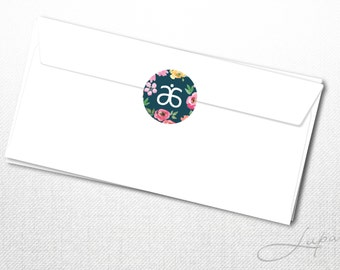 Arbonne Envelope Seal Sticker - 01 – Instant Download – DIGITAL FILE
