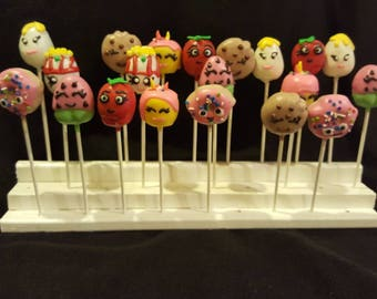 "Cake pops ""Shopkins Inspired"" (Order of 13)"