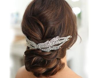Bridal comb/crystal comb/bridal headdress/wedding hair comb/bridal hairpiece/bridal accessories/wedding accessories/hair vine