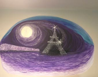 Wall mural of the Eiffel Tower