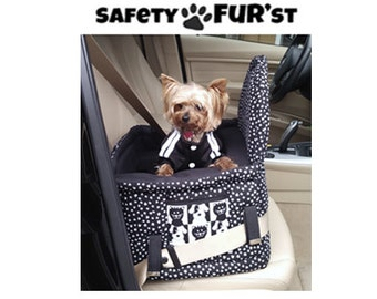 SafetyFur'st Car Seat for Small Dogs
