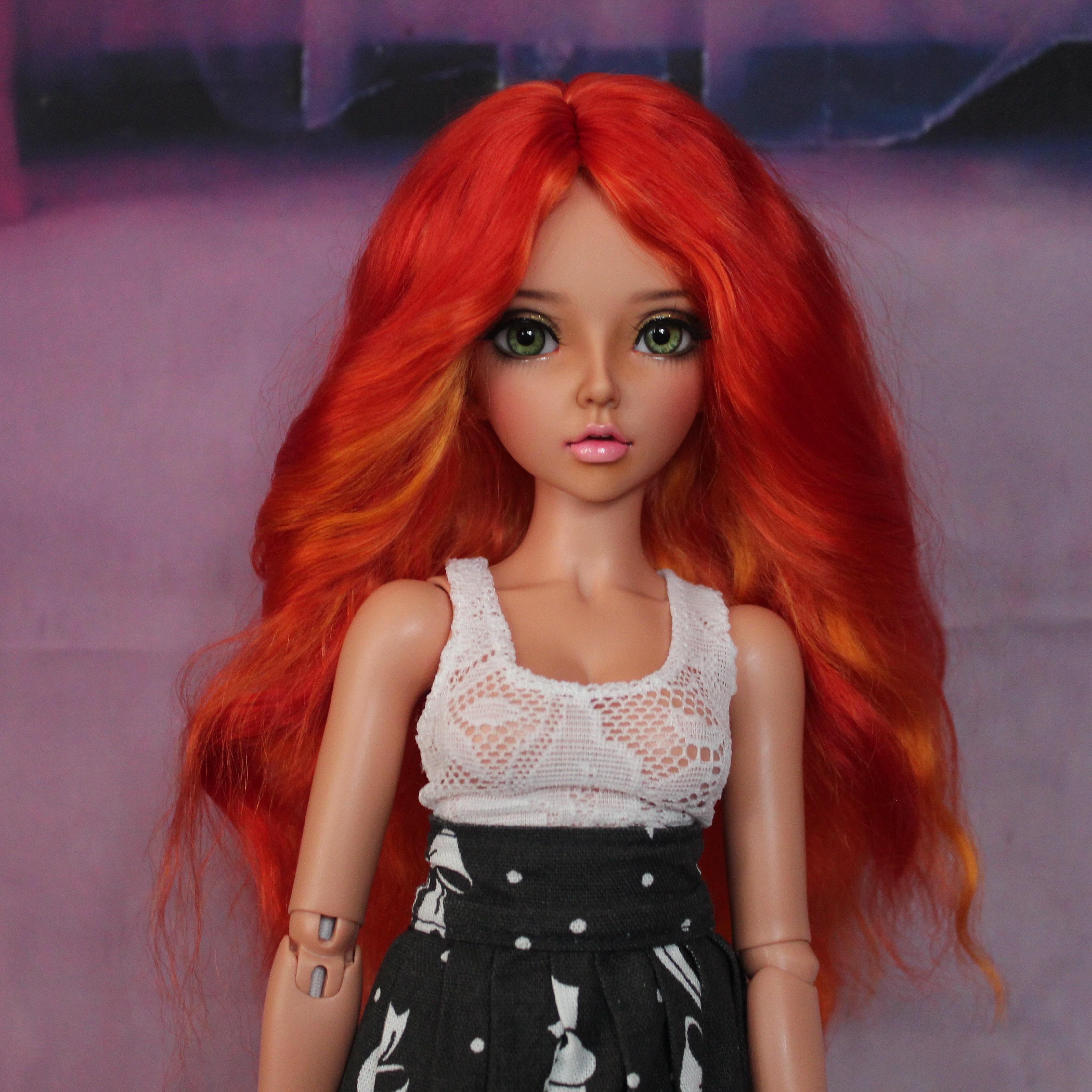 KateDollAtelier - BJD wigs from angora mohair