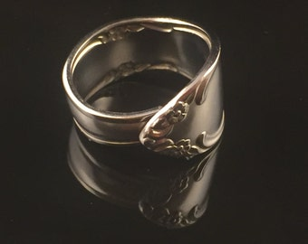 Spoon Ring Band Size 8 Stainless Steel Flatware
