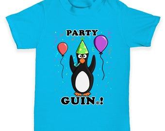 Party Guin The Penguin Baby Toddler T-Shirt