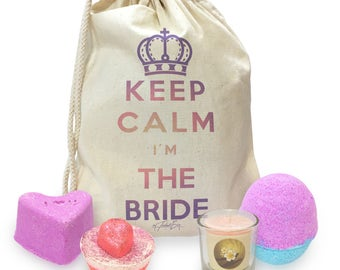 Keep Calm I'm The Bride Mini Spa In A Bag Collection 1