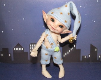 """Outfit """"Little star  gnome"""" for Realpuki and dolls of similar size"""