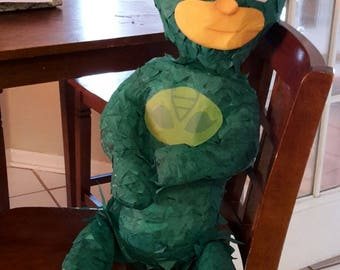 Pj Masks. Gekko piñata. Handmade. New
