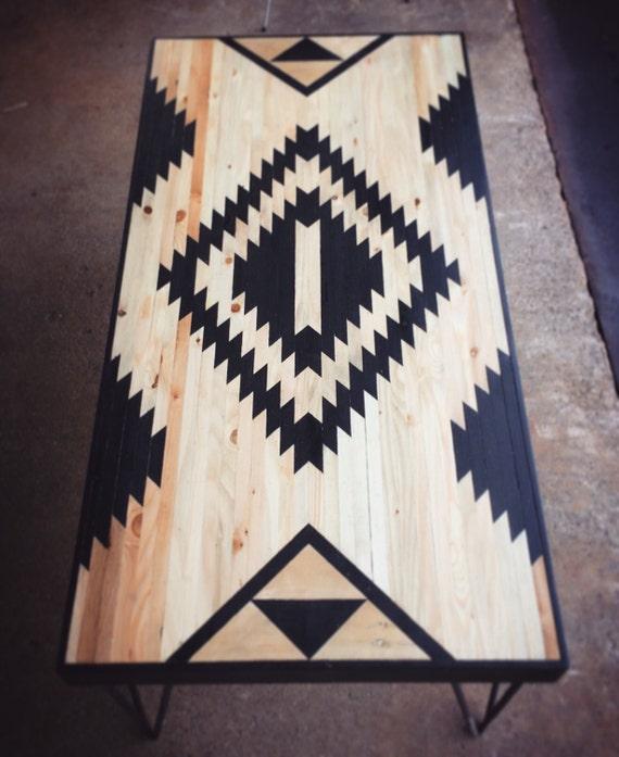 Peque as mesas de centro mesas de madera reciclado tablas de Mesas de centro pequenas