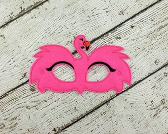 Flamingo Mask - Flamingo Party - Party Favor - Dress Up - Halloween - Flamingo Costume
