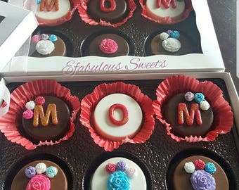 Mothers Day Gift, Chocolate Covered Oreos