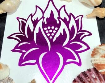 Lotus Vinyl Decal