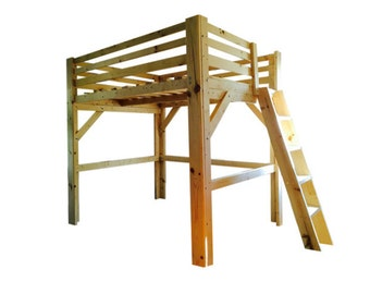 "ANY height clearance Loft Bed (under 72"").  Queen or Full Size.  Smooth finish."