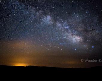 Milky Way Galaxy in Arizona - Fine Art Travel Photography Prints - Matted