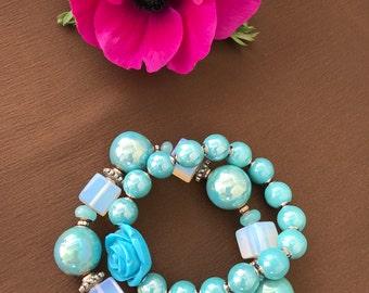 Blue spring set