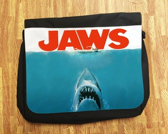 Jaws: Spielberg Classic Universal Movie Messenger School/College/Uni Bag