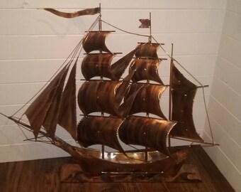 Copper Clipper Ship