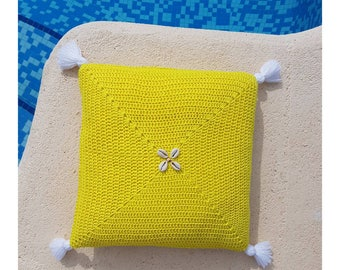 Cushion Bohemia neon yellow