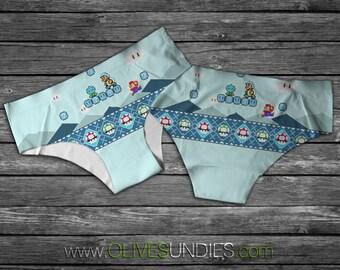 Super Mario Winter Theme Underwear/Panties