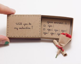 Funny Valentine Card/ Witty Valentine's Day Card/ Will You Be My Valentine?/ LV018