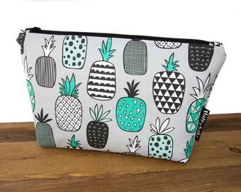 Pineapple Makeup Bag Set - Pineapple Gifts - Extra Large Makeup Bag Large - Makeup Organizer Bag - Toiletry Bag Women - Cosmetic Bag Set #39