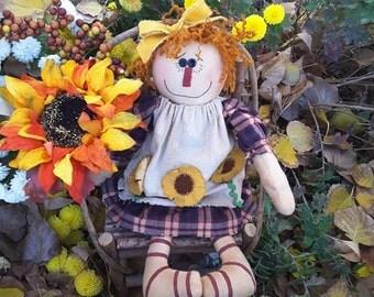 Fall Raggedy Doll