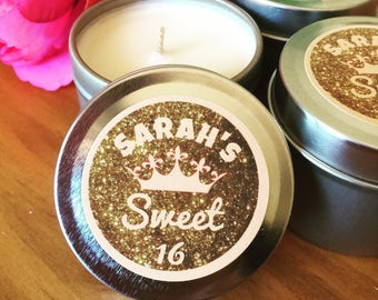 SETS OF 20+ | Sweet 16 Birthday Party Favours