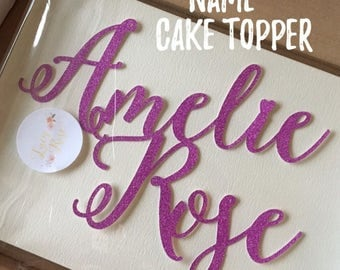 Personalised Name Only Cake Topper