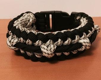 Twisted Ridge Sanctified Bracelet, Paracord bracelet