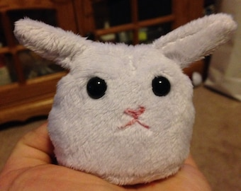 Pocket bunny plush toy