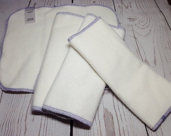 Tri-Fold Insert - Heavy 70 percent Bamboo, 30 percent Organic Cotton, triple layer