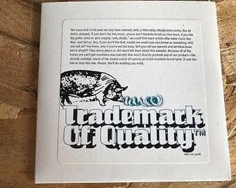 Trademark of Quality - Rare CD Set - The Cramps - Green Day
